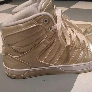 adidas Shoes - Gold Adidas HighTops